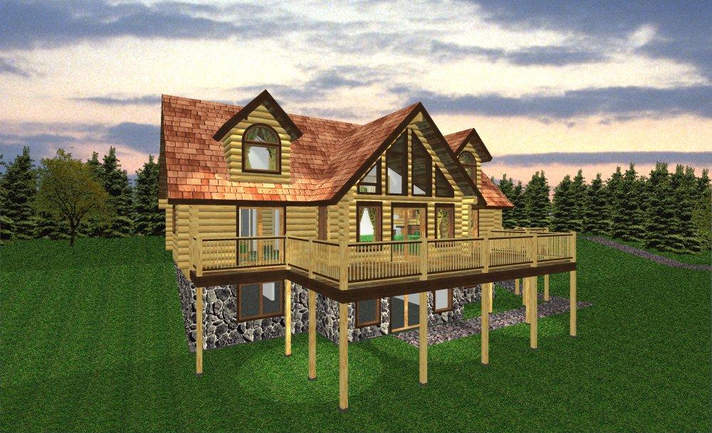 Adk floor plans for Adirondack lake house plans