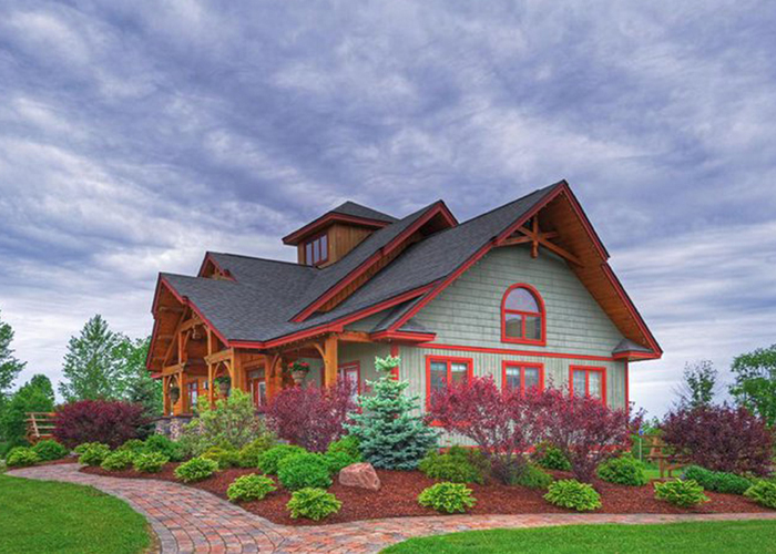 Gallery eastern adirondack for Adirondack style homes